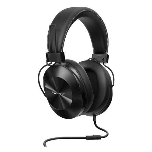 Наушники с микрофоном PIONEER SE-MS5T-K, 3.5 мм, мониторы, черный все цены