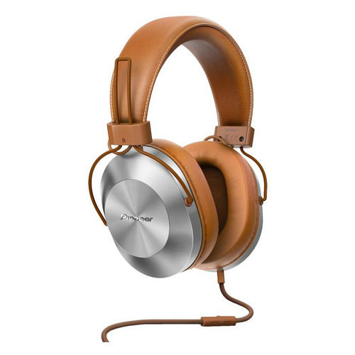 лучшая цена Наушники с микрофоном PIONEER SE-MS5T-T, 3.5 мм, мониторы, коричневый