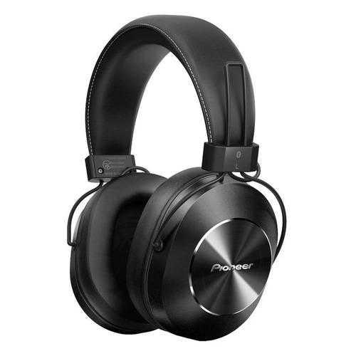Наушники PIONEER SE-MS7BT-K, 3.5 мм/Bluetooth, мониторные, черный наушники pioneer se ms7bt s 3 5 мм bluetooth мониторные серебристый