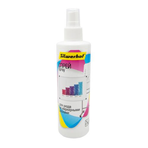Фото - Чистящий спрей SILWERHOF 250 мл [671209] 24 шт./кор. мыло гель для лица освежающее holy land juvelast cleansing soap 250 мл
