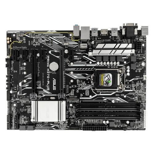 Материнская плата ASUS PRIME H270-PLUS, LGA 1151, Intel H270, ATX, Ret материнская плата asus strix z270h gaming lga 1151 intel z270 atx ret
