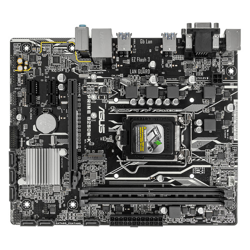 Материнская плата ASUS PRIME B250M-K, LGA 1151, Intel B250, mATX, Ret prime b250 pro