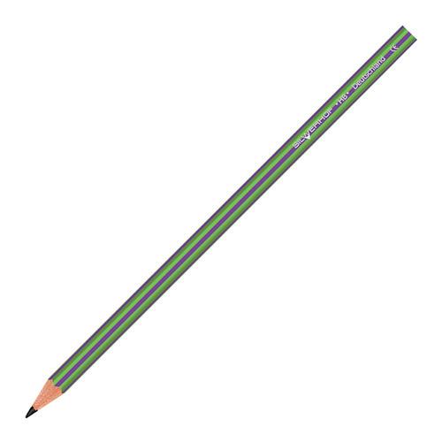 Упаковка карандашей чернографитовых SILWERHOF Azimut 121227-03 HB шестигранный пластик 2.2мм коробка с европодвесом 12 шт./кор. упаковка лезвий silwerhof 461004 коробка пластиковая 10 шт кор