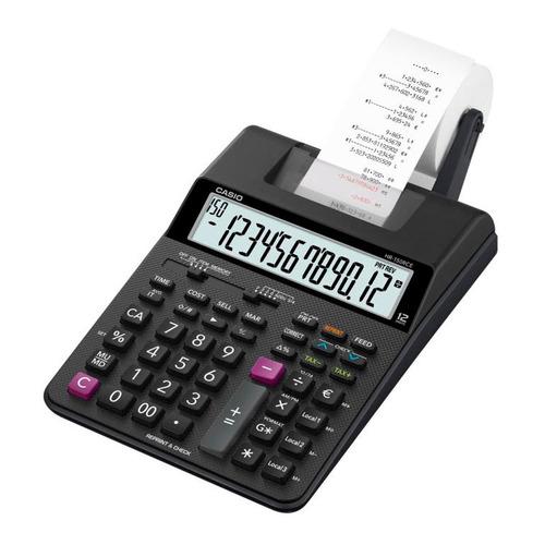 цена Калькулятор CASIO HR-150RCE-WA-EC, 12-разрядный, черный онлайн в 2017 году