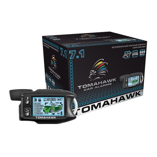 Автосигнализация TOMAHAWK 7.1 автосигнализация tomahawk 7 1