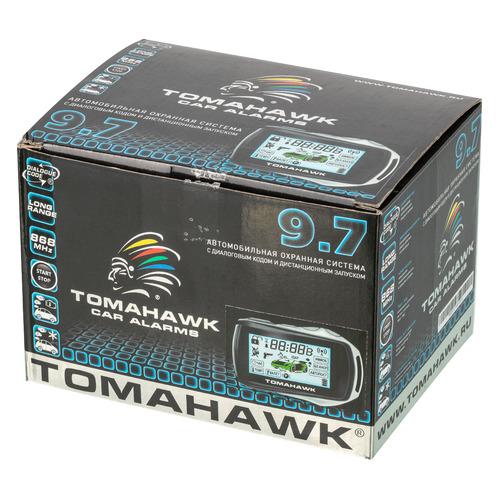 Автосигнализация TOMAHAWK 9.7 аксессуар брелок starline b62 с жк дисплеем