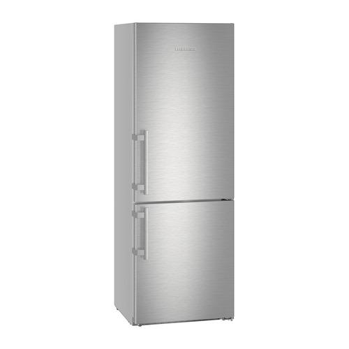 Холодильник LIEBHERR CBNef 5715, двухкамерный, серебристый цена и фото