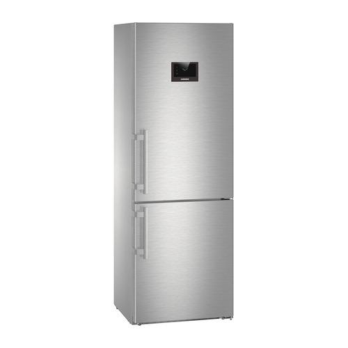 Холодильник LIEBHERR CBNPes 5758, двухкамерный, нержавеющая сталь цена