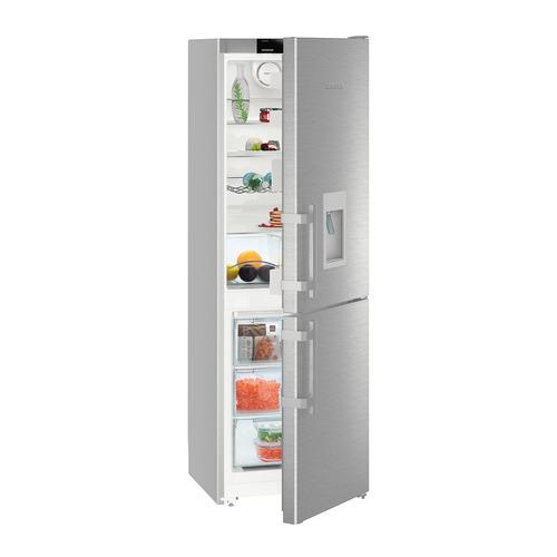 лучшая цена Холодильник LIEBHERR CNef 3535, двухкамерный, нержавеющая сталь