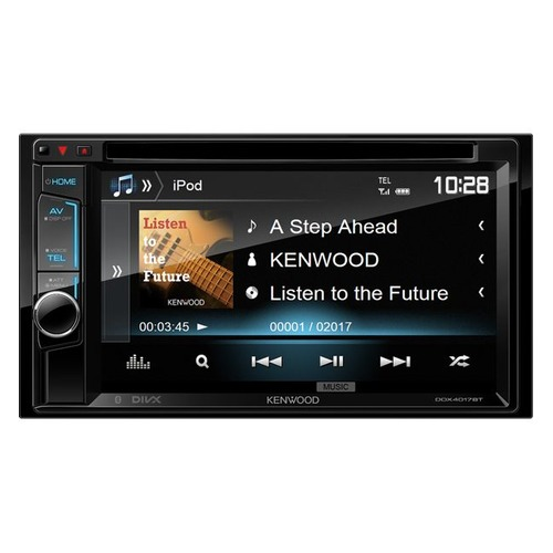 Автомагнитола KENWOOD DDX-4017BTR, USB reakosound 6201a 6 2 inch 6201a audio dvd sb sd bluetooth 2 din car cd player 1 3 inch color cmos camera