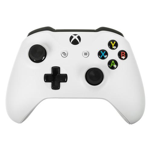 лучшая цена Геймпад Беспроводной MICROSOFT TF5-00004, для Xbox One, белый