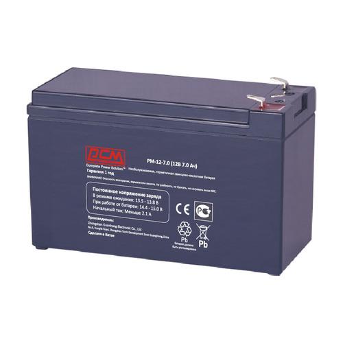 Аккумуляторная батарея для ИБП PowerCom PM-12-7.0 12В, 7.0Ач