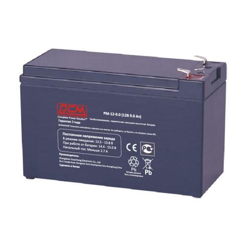 Аккумуляторная батарея для ИБП PowerCom PM-12-9.0 12В, 9.0Ач