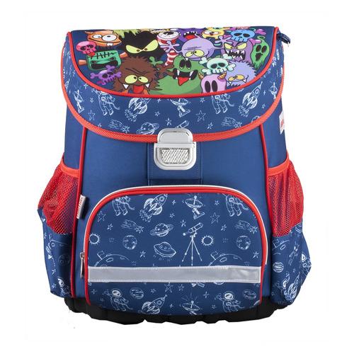 Ранец Hama MONSTERS синий/красный ранец hama monsters синий красный