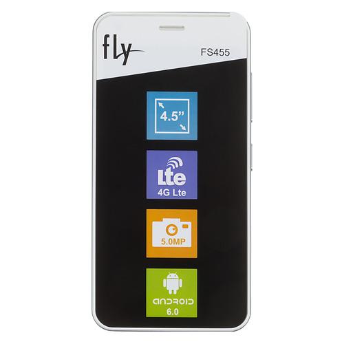 Смартфон FLY Nimbus 11 FS455, белый цена
