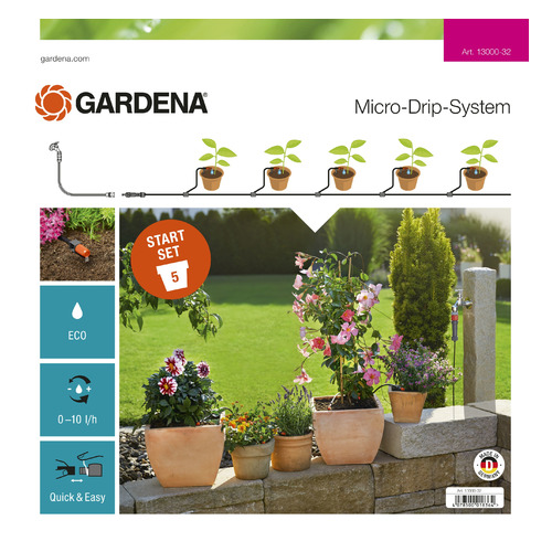 Набор полива Gardena 13000-32.000.00 цены