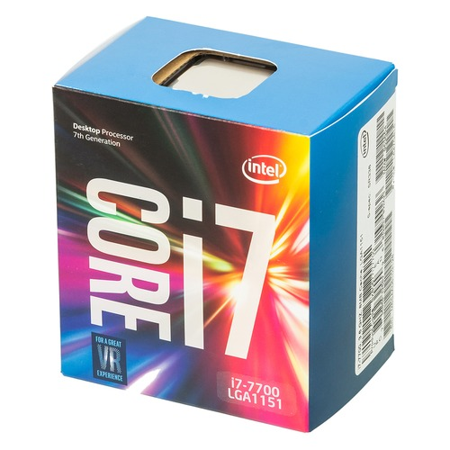 Процессор INTEL Core i7 7700, LGA 1151, BOX цена и фото