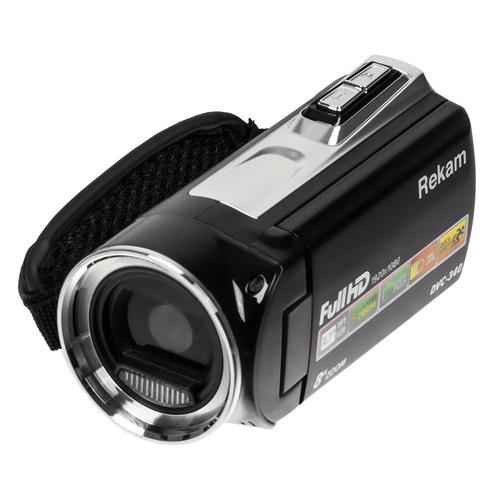 Фото - Видеокамера REKAM DVC-340, черный, Flash [2504000001] видеокамера rekam dvc 340 black