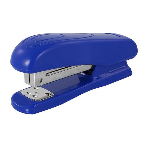 цена на Степлер Silwerhof 401070-02 24/6 (20листов) синий 100скоб 12 шт./кор.