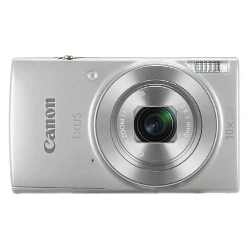 лучшая цена Цифровой фотоаппарат CANON IXUS 190, серебристый