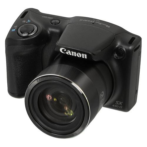 Фото - Цифровой фотоаппарат CANON PowerShot SX430 IS, черный 150 мм 15 см 6 электронной цифровой жк сталь штангенциркуль калибр микрометр