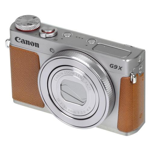 Фото - Цифровой фотоаппарат CANON PowerShot G9 X Mark II, серебристый/ коричневый цифровой фотоаппарат canon powershot g5 x mark ii черный