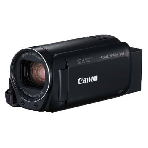 Видеокамера CANON Legria HF R806, черный, Flash [1960c004] freeshipping professional video camera digital camcorder dvr hdv f5 3 0 touch display 1080p hd dis optional wide angle lens