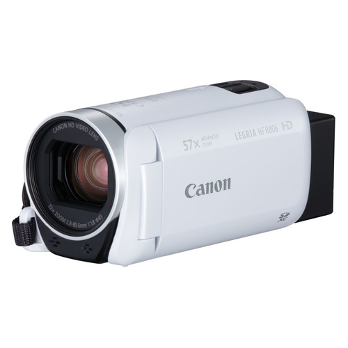 Видеокамера CANON Legria HF R806, белый, Flash [1960c005] freeshipping professional video camera digital camcorder dvr hdv f5 3 0 touch display 1080p hd dis optional wide angle lens