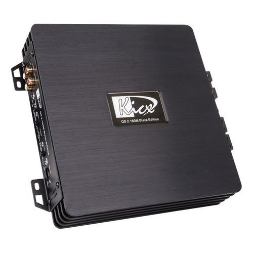 Усилитель автомобильный KICX QS 2.160M, черный [2061024] цены