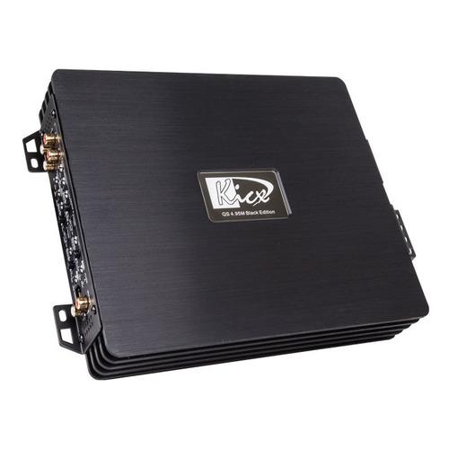 Усилитель автомобильный KICX QS 4.95M Black Edition, черный [2062035] цены