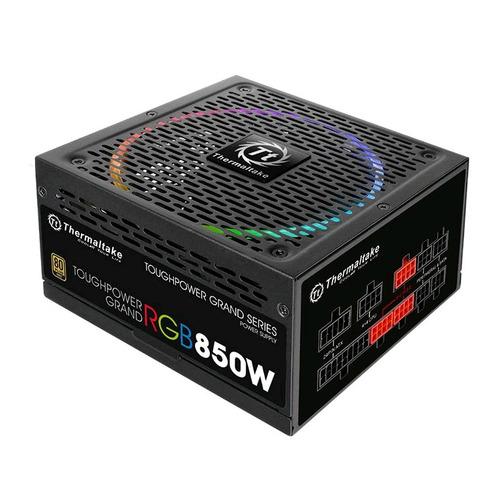 Блок питания THERMALTAKE Toughpower Grand RGB, 850Вт, 140мм, черный, retail [ps-tpg-0850fpcgeu-r] цены