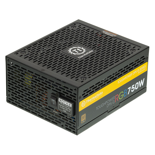 Блок питания THERMALTAKE Toughpower DPS G RGB, 750Вт, 140мм, черный, retail [ps-tpg-0750dpcgeu-r] блок питания thermaltake toughpower irgb plus 1050вт 140мм черный retail [ps tpi 1050f2fdpe 1]