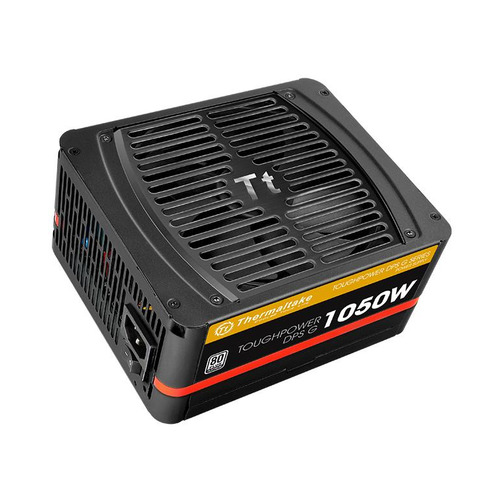 Блок питания THERMALTAKE Toughpower DPS G, 1050Вт, 140мм, черный, retail [ps-tpg-1050dpcpeu-p] блок питания thermaltake toughpower irgb plus 1050вт 140мм черный retail [ps tpi 1050f2fdpe 1]