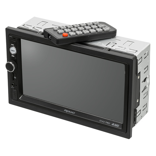 Автомагнитола PROLOGY DVU-750, USB, SD автомагнитола prology dvu 750