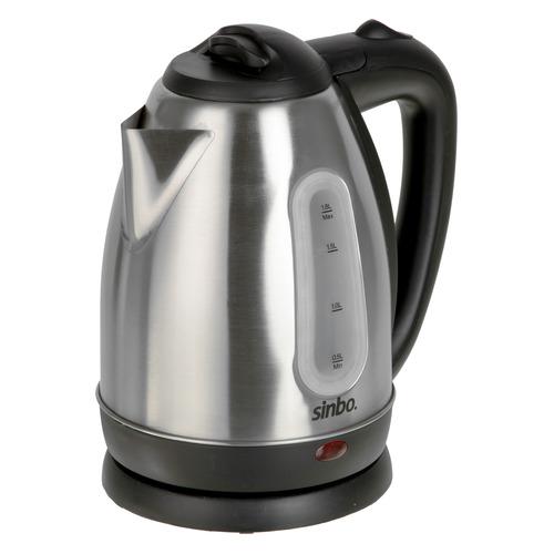 Чайник электрический SINBO SK 7362, 2200Вт, серебристый цена и фото