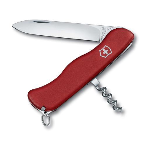 Складной нож VICTORINOX ALPINEER, 5 функций, 111мм, красный стоимость