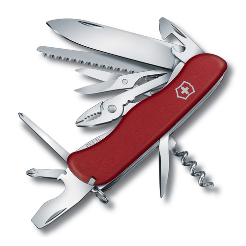 Складной нож VICTORINOX HERCULES, 18 функций, 111мм, красный швейцарский нож victorinox hercules 0 9043 111 мм 18 функций красный