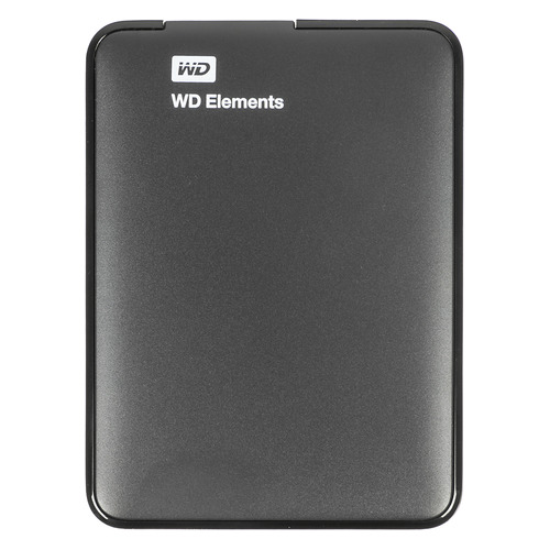Фото - Внешний жесткий диск WD Elements Portable WDBUZG5000ABK-WESN, 500ГБ, черный внешний hdd wd elements portable 1tb black wdbuzg0010bbk wesn