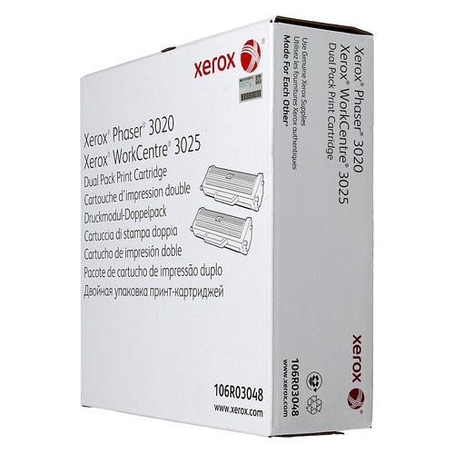 Картридж (двойная упаковка) Xerox 106R03048, черный / 106R03048
