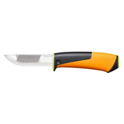 Нож садовый Fiskars 1023619 черный/оранжевый