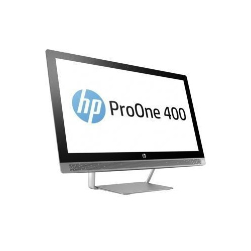 Моноблок HP ProOne 440 G3, 23.8, Intel Core i3 7100T, 4Гб, 1000Гб, 128Гб SSD, Intel HD Graphics 630, DVD-RW, Windows 10 Professional, черный и серебристый [1ql98es] моноблок lenovo v410z 21 5 intel core i3 7100t 8гб 1000гб intel hd graphics 630 dvd rw windows 10 professional черный [10qv000eru]