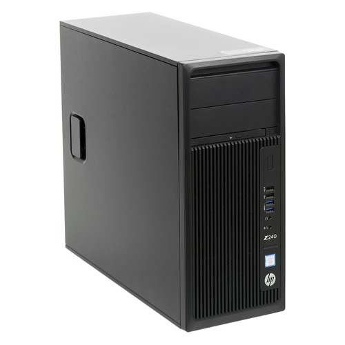Рабочая станция HP Z240, Intel Core i7 7700, DDR4 8Гб, 256Гб(SSD), Intel HD Graphics 630, DVD-RW, CR, Windows 10 Professional, черный [y3y80ea] рабочая станция hp z240 intel core i7 7700k ddr4 16гб 256гб ssd intel hd graphics 630 dvd rw cr windows 10 professional черный [y3y83ea]