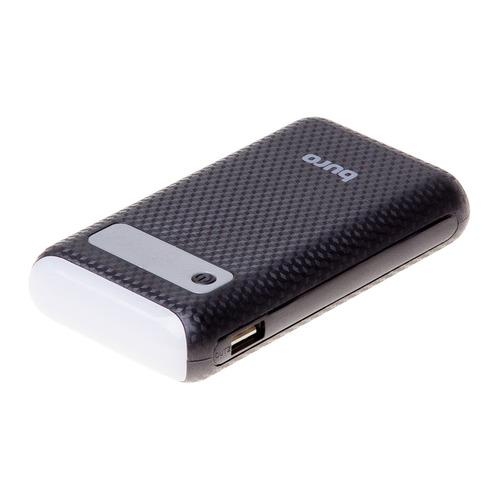 Фото - Внешний аккумулятор (Power Bank) Buro RC-7500A-B, 7500мAч, черный аккумулятор buro rc 21000 белый коробка