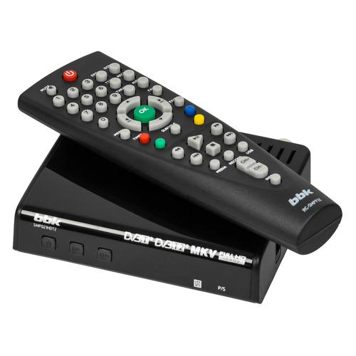 цена на Ресивер DVB-T2 BBK SMP021HDT2, черный [smp021hdt2 (b)]