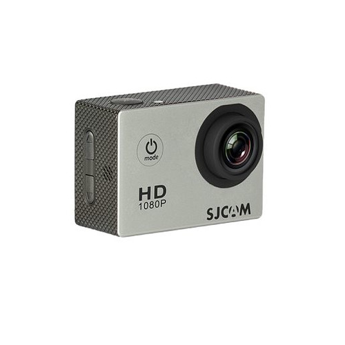 Экшн-камера SJCAM SJ4000 1080p, серебристый [sj4000silver] hk1080ir2 waterproof 1080p hd 1 3 cmos 1 0mp cctv camera w 2 ir led silver