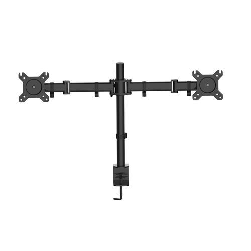 Фото - Кронштейн для мониторов Cactus CS-VM-D29-BK черный 13-27 макс.10кг настольный поворот и наклон кронштейн