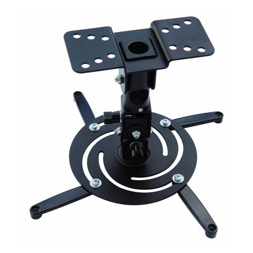 Фото - Кронштейн для проектора Cactus CS-VM-PR04-BK черный макс.21кг настенный и потолочный поворот и накло кронштейн
