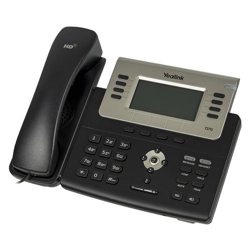 SIP телефон YEALINK SIP-T27G sip телефон yealink sip t58a