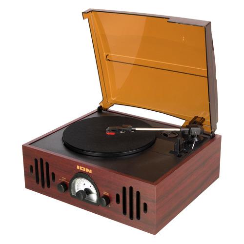 Фото - Проигрыватель винила ION Audio TRIO LP частично автоматический черный гайковерт для компрессора jonnesway jai 1054 ударный 920нм 8000об мин 1 2dr 200 л мин