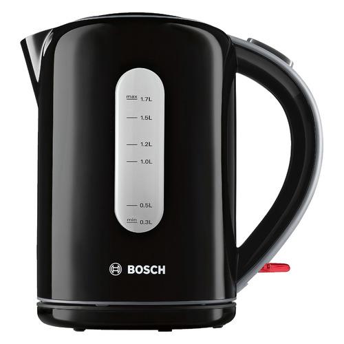 Чайник электрический BOSCH TWK7603, 2200Вт, черный bosch чайник twk7809 1 7л 2200вт page 9